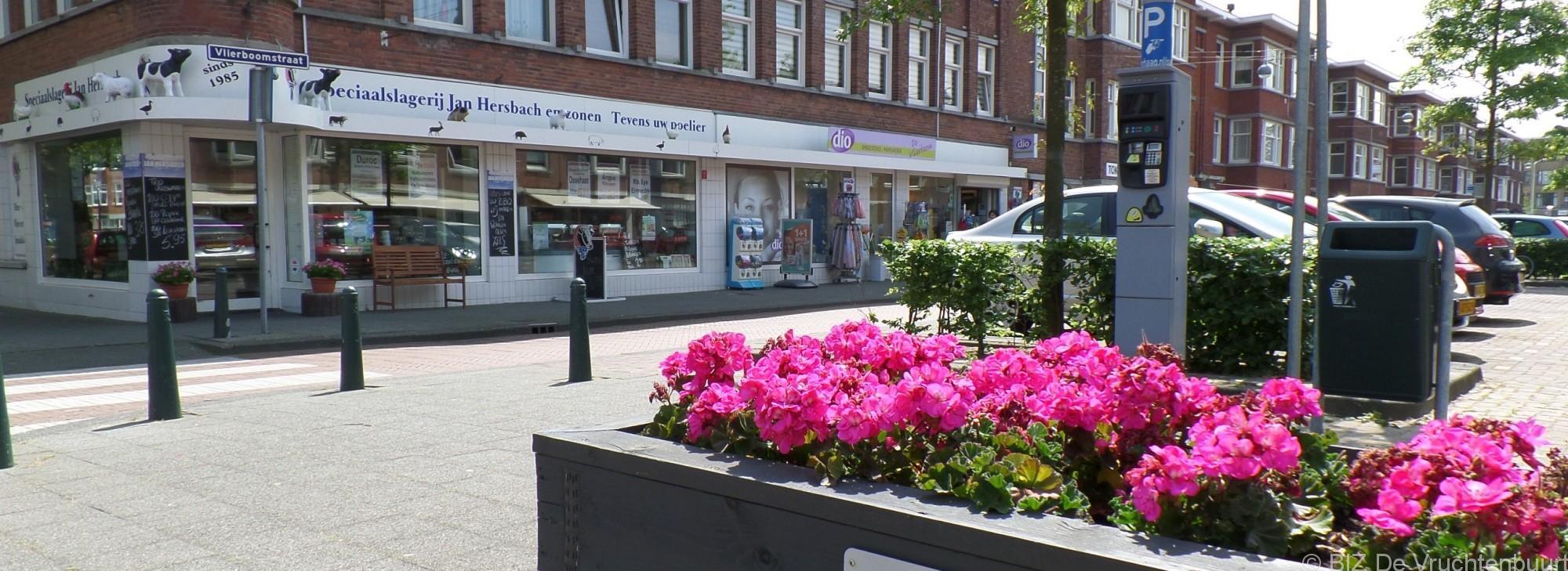 Winkelcentrum de Vruchtenbuurt